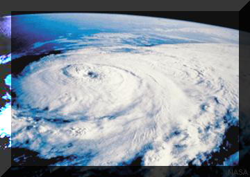 Hurricane Satalite Photo